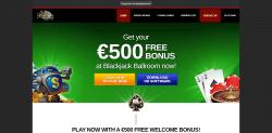 blackjack ballroom 500 bonus